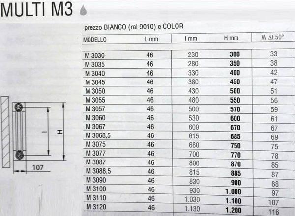 Radiatore 9 Elementi Brandoni Marrone